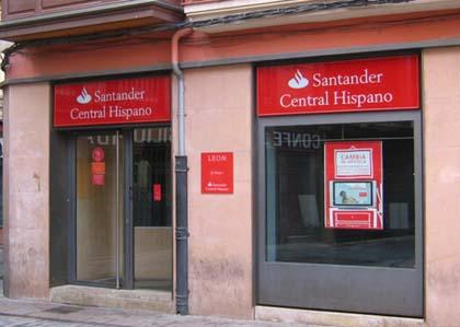 santander central hispano sucursal calle pozo barrio